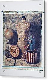 The Attic Acrylic Print by Garry Gay