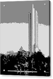 The Austonian Bw3 Acrylic Print by Scott Kelley