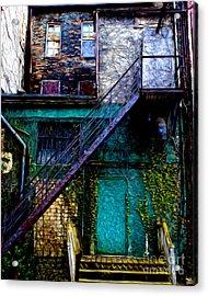 The Back Door Acrylic Print