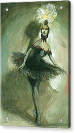 The Ballerina Acrylic Print by Gregory DeGroat