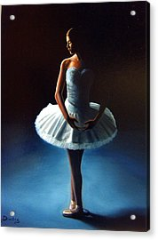 The Ballet Dancer 2 Acrylic Print by Dimitris Papadakis