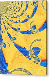The Bark Of A Thousand Eyes Acrylic Print by Mary Ann Southern