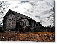 The Barn At Pawlings Farm Acrylic Print by Bill Cannon