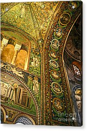 The Basilica Di San Vitale In Ravenna - 03 Acrylic Print by Gregory Dyer