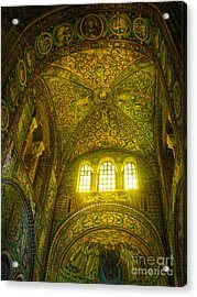 The Basilica Di San Vitale In Ravenna Acrylic Print by Gregory Dyer