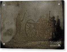The Battlefield Acrylic Print by Kim Henderson