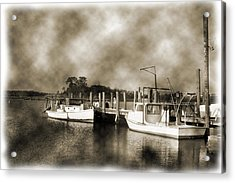 The Bayou Acrylic Print by Barry Jones