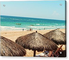 Acrylic Print featuring the photograph The Beach At Puerto Pensasco by Rand Swift