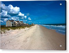 The Beach Is Yours Acrylic Print by Betsy Knapp
