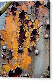 The Beauty Of Aging Acrylic Print by The Art With A Heart By Charlotte Phillips