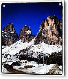 The Beauty Of The Dolomites Acrylic Print
