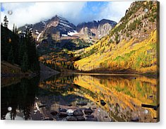 The Bells Are Ringlng Acrylic Print by Jim Garrison