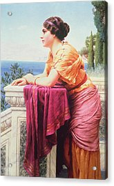 The Belvedere Acrylic Print by John William Godward