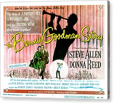 The Benny Goodman Story, Donna Reed Acrylic Print by Everett