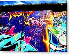 The Berlin Wall 2 Acrylic Print by Mark Azavedo