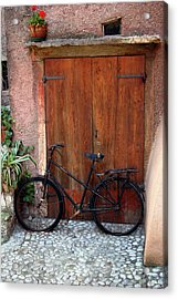 Acrylic Print featuring the photograph The Bicycle by Emanuel Tanjala