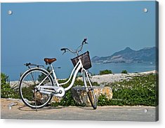 The Bicycle Acrylic Print by Jocelyn Kahawai