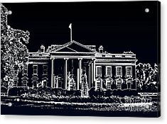 Acrylic Print featuring the photograph The Black House by Joe Finney