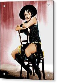 The Blue Angel, Marlene Dietrich, 1930 Acrylic Print by Everett