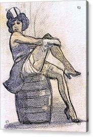 The Blue Angel Acrylic Print by Mel Thompson