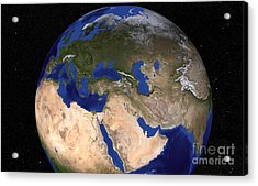 The Blue Marble Next Generation Earth Acrylic Print by Stocktrek Images