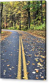 The Blue Ridge Parkway Acrylic Print by JC Findley