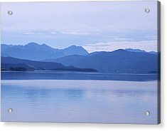 The Blue Shore Acrylic Print by Dany Lison