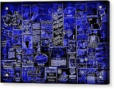 The Blues In Memphis Acrylic Print by Carol Groenen