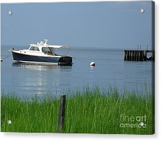 Acrylic Print featuring the photograph The Boat by Beth Saffer