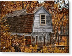 The Boathouse At The Manse Acrylic Print
