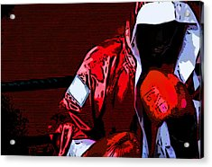 The Boxer Acrylic Print by Rpics Rpics