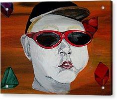 The Boy Acrylic Print by Mark Moore