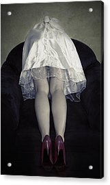 The Bride From Behind Acrylic Print by Joana Kruse
