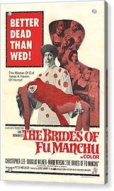 The Brides Of Fu Manchu, Christopher Acrylic Print by Everett