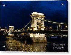 The Bridge Across Acrylic Print by Syed Aqueel