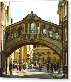 The Bridge Of Sighs Acrylic Print by Anne Gordon