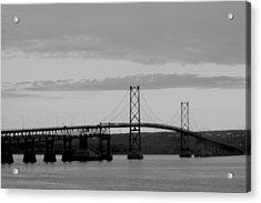 The Bridge Acrylic Print by Sophie  Bouchard