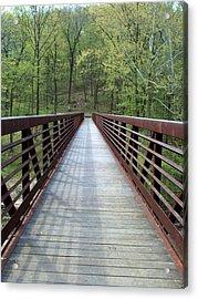 The Bridge That Divides Acrylic Print