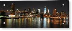 The Brooklyn Bridge Acrylic Print