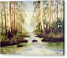 The Buckland River Acrylic Print