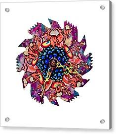 The Bug-blossom Acrylic Print by Jessica Sornson