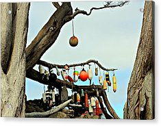 Acrylic Print featuring the photograph The Buoy Tree by Jo Sheehan