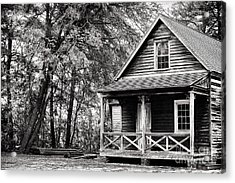 The Cabin Acrylic Print by John Rizzuto