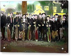 The Caddies Acrylic Print by Charles Shoup