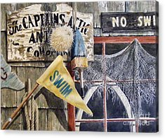 The Captains Attic Sold Acrylic Print