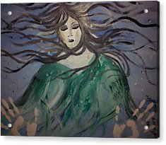 The Capture Of Haunting Beauty  Acrylic Print by Ronald Mcduff
