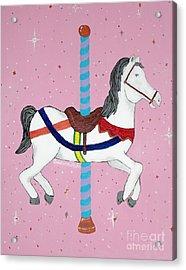 The Carousel Acrylic Print by Cristina Mohr