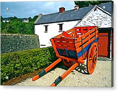 Acrylic Print featuring the photograph The Cart by Charlie and Norma Brock