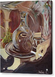 Acrylic Print featuring the painting the Casbah by Julie Todd-Cundiff