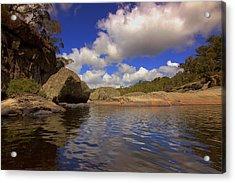 The Cascades Pool Acrylic Print
